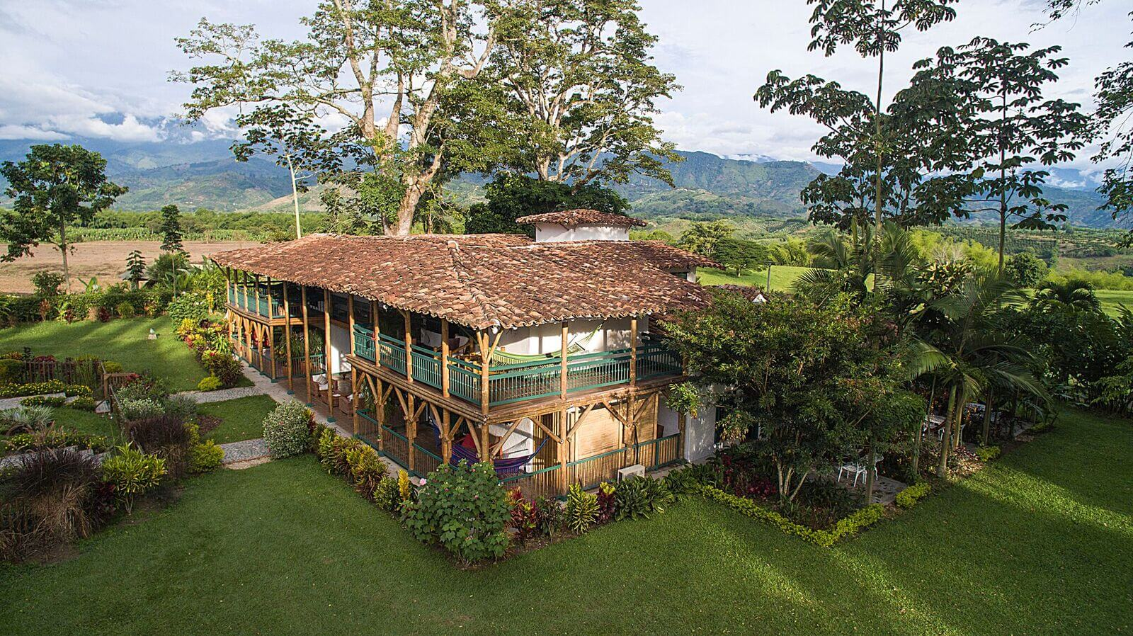 colombia, coffee region, bambusa