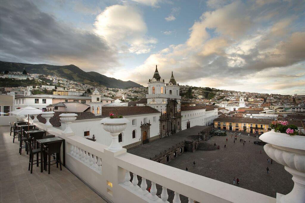 Quito - Terrace Casa Gangotena