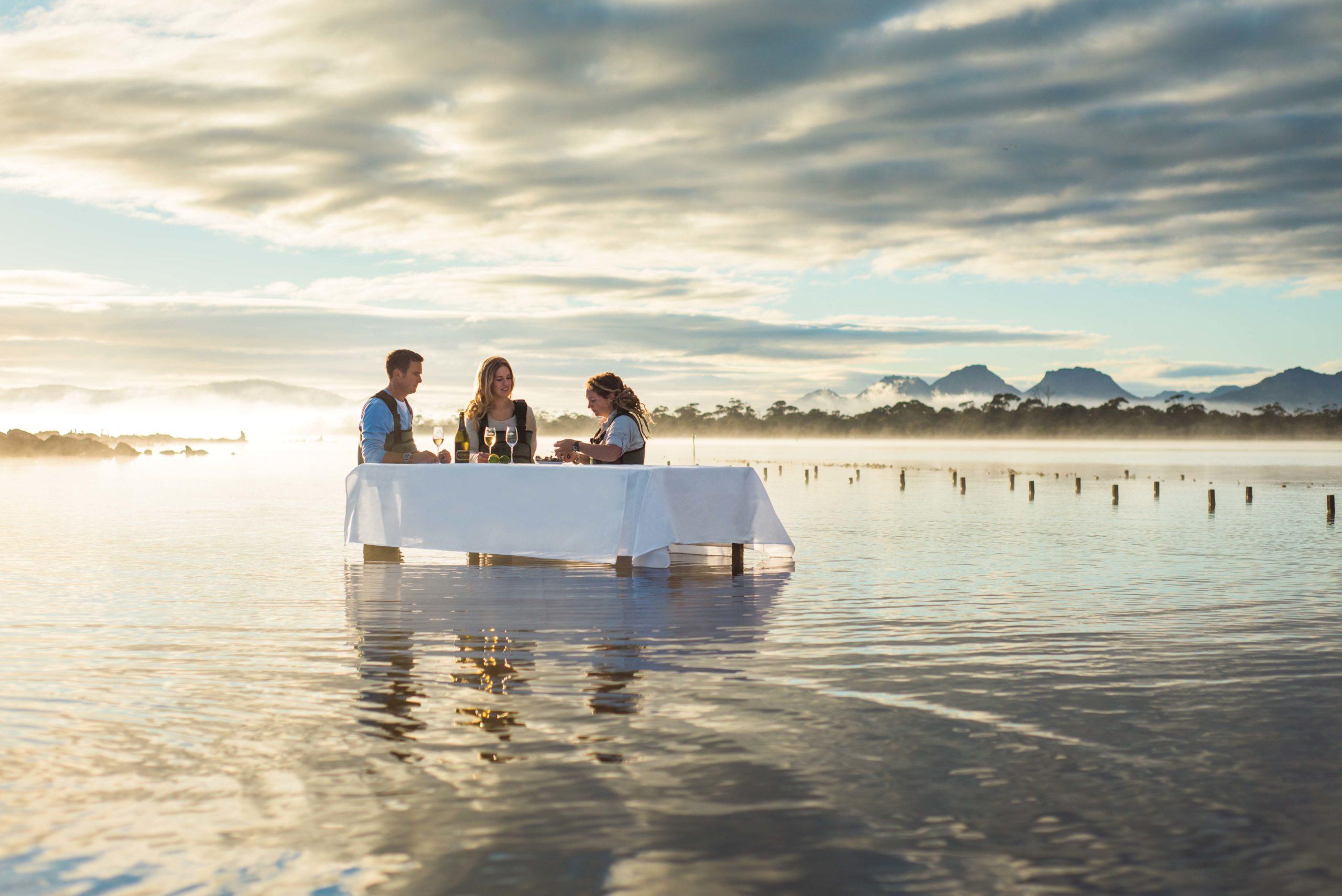 Freycinet Oyster Farm Experience Australia Tasmania