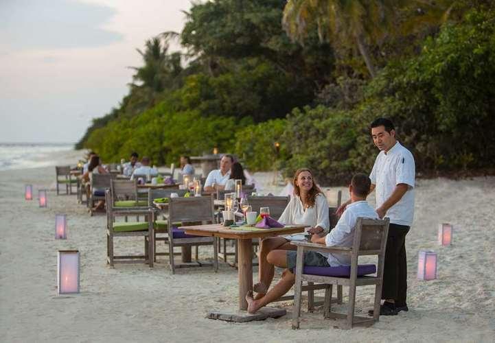 Soneva Fushi, Maldives by the Beach Restaurant