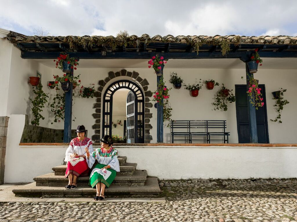 Hacienda Zuleta, Ecuador. Photo courtesy Clark Kotula.