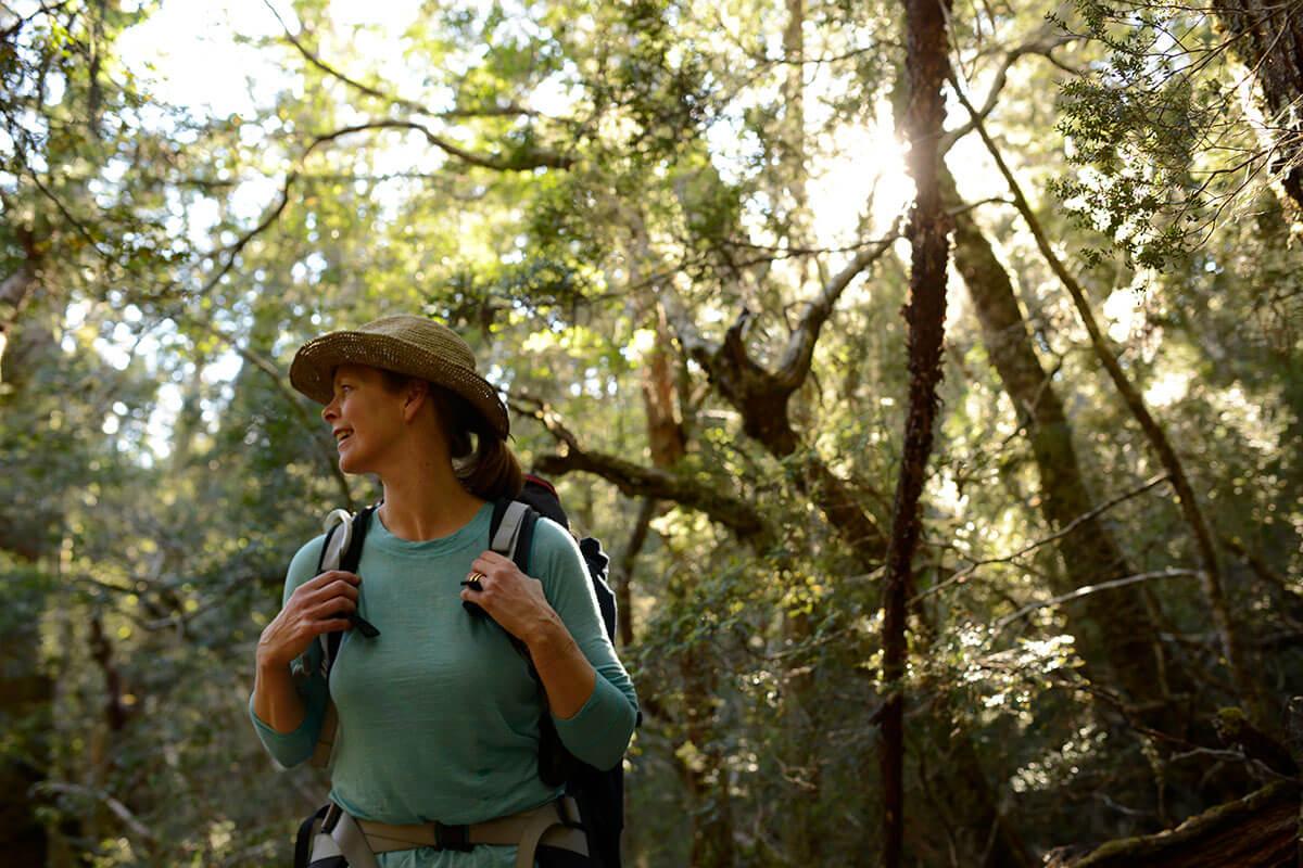 cradle-mountain-huts-walk-tasmania-great-walks-of-australia-dinner-wine