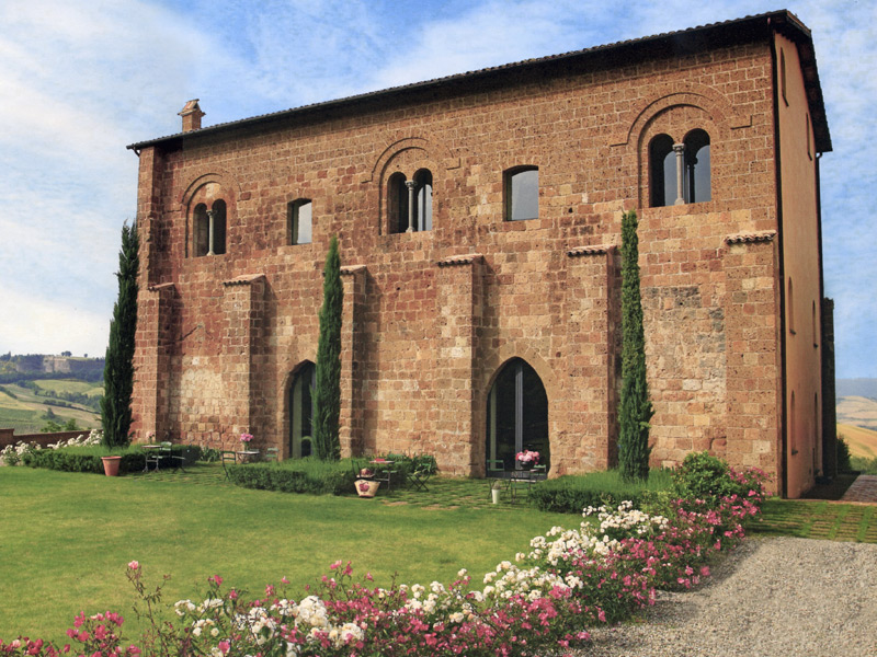Palazzo Seneca, Norcia, Umbria, Italy.